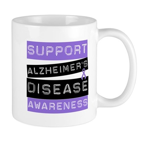 Support Alzheimer's Awareness Mug