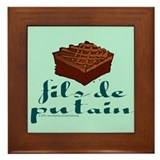 Brownie, fils de putain. Framed Tile