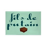 Brownie, fils de putain. Rectangle Magnet