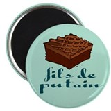 "Brownie, fils de putain. 2.25"" Magnet (10 pack)"