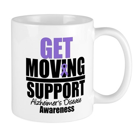 Get Moving Support Alzheimer's Mug