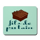 Brownie, fils de putain. Mousepad