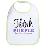 Think Purple Alzheimer's Bib