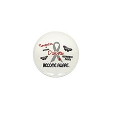 Diabetes Awareness Month 2.3 Mini Button (10 pack)