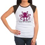 O is for Octopus Women's Cap Sleeve T-Shirt