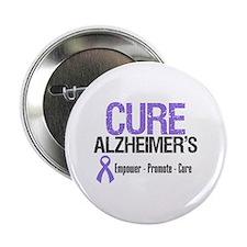 """CURE Alzheimer's 2.25"""" Button"""