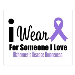 I Wear Purple (Someone I Love) Posters
