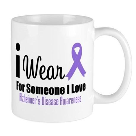 I Wear Purple (Someone I Love) Mug