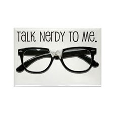 Talk Nerdy To Me<br> Rectangle Magnet (100 pack)