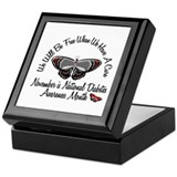 Diabetes Awareness Month 3.2 Keepsake Box