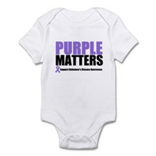 PurpleMatters-Alzheimer's Infant Bodysuit