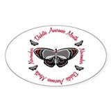 Diabetes Awareness Month 3.3 Oval Decal