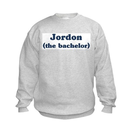 Jordon the bachelor Kids Sweatshirt