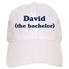David the bachelor Baseball Cap