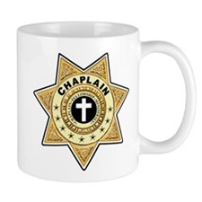 Chaplain 7 point Star badge Coffee Mug