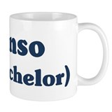 Alonso the bachelor Coffee Mug