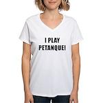 Petanque.org Women's V-Neck T-Shirt