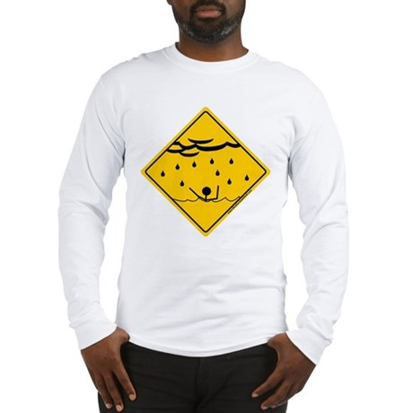 Flood Warning Long Sleeve T-Shirt