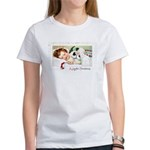 Christmas Gift Dreams (Front) Women's T-Shirt