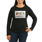 Christmas Gift Dreams (Front) Women's Long Sleeve