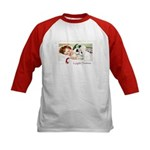 Christmas Gift Dreams (Front) Kids Baseball Jersey