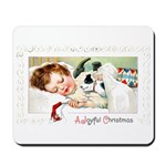 Christmas Gift Dreams Mousepad