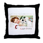 Christmas Gift Dreams Throw Pillow