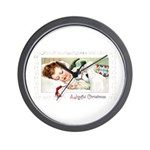 Christmas Gift Dreams Wall Clock