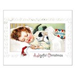 Christmas Gift Dreams Small Poster