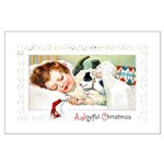 Christmas Gift Dreams Large Poster