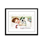 Christmas Gift Dreams Framed Panel Print