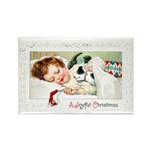 Christmas Gift Dreams Rectangle Magnet (10 pack)