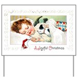Christmas Gift Dreams Yard Sign