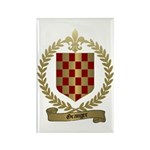 GRANGER Family Crest Rectangle Magnet