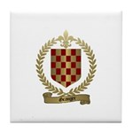 GRANGER Family Crest Tile Coaster