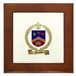 GRONDIN Family Crest Framed Tile