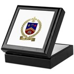 GRONDIN Family Crest Keepsake Box