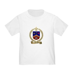 GRONDIN Family Crest Toddler T-Shirt