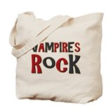 Vampires Rock Twilight Movie Tote Bag