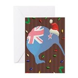 Christmas Kiwi Greeting Card