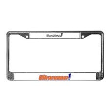 iRunUltras License Plate Frame