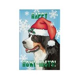 Holiday Berner Rectangle Magnet