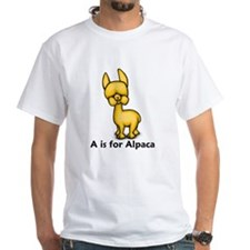 A is for Alpaca Shirt