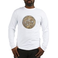 Gold Dragon Long Sleeve T-Shirt