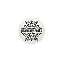 Pharmacy Rocks Mini Button
