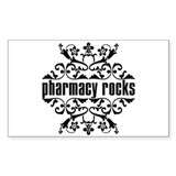 Pharmacy Rocks Rectangle Decal