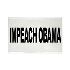 Impeach Obama (L) Rectangle Magnet