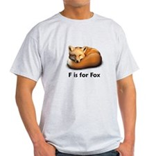 F is for Fox T-Shirt