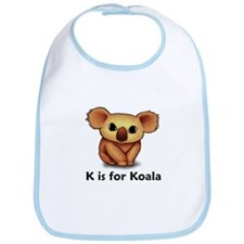K is for Koala Bib