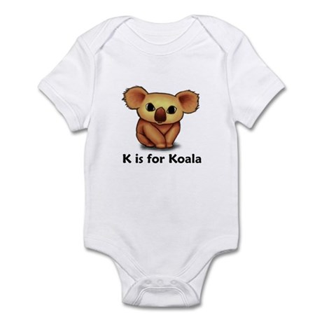 K is for Koala Infant Bodysuit